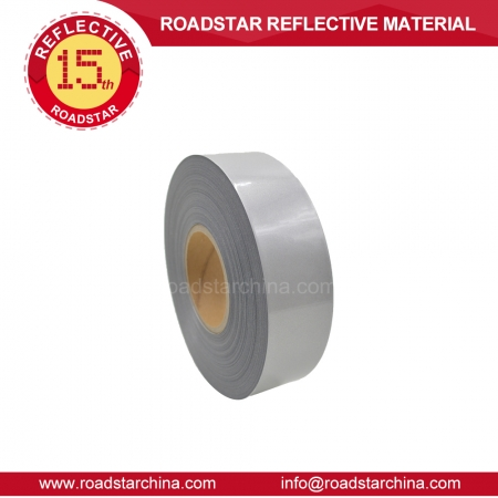 Elastic Silver reflective heat transfer vinyl for plotter cutting RS-733TK