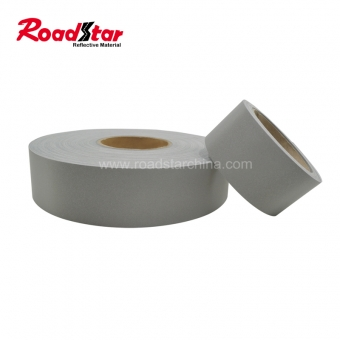 silver reflective fabric tape for industrial washing