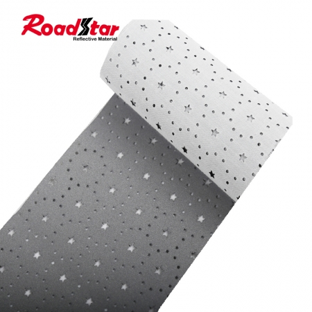 Perforated Retro Reflective Fabric Tape