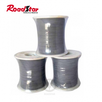 single side reflective thread