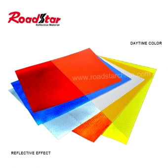 PVC micro prismatic reflective sheeting
