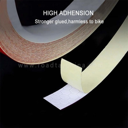 1cm width waterproof micro prismatic sheeting reflective pinstripe tape for bicycle
